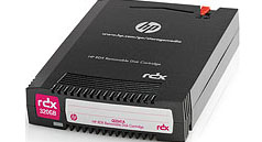 HP StorageWorks RDX 320GB Removable Disk Cartridge Part # Q2041A
