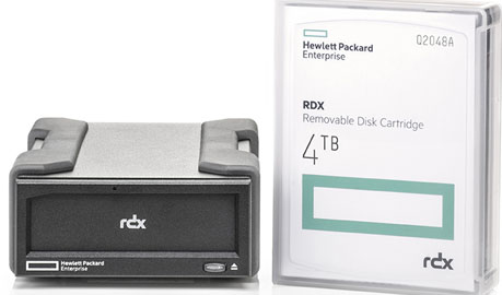 Hpe Rdx 4tb External Usb 3 0 Bundle 1 X Rdx 4tb Cart 1 X Rdx Usb 3 0 External Dock Part