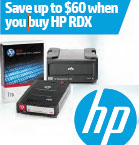 HP RDX $60 Rebate Promotion