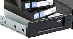 IBM RDX 320GB Internal USB Removable Disk Docking Station and 1 x 320GB RDX