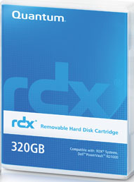 Quantum Rdx 320gb Removable Disk Cartridge Part Mr032 A01a