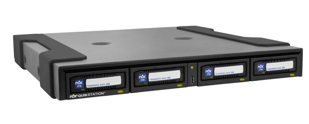 Tandberg Data Rdx Quikstation 4 1u Desktop Removable Disk