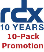 RDX 10 year 10-pack promotion