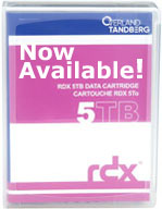 Tandberg Data 5TB RDX Cartridge 8862-RDX