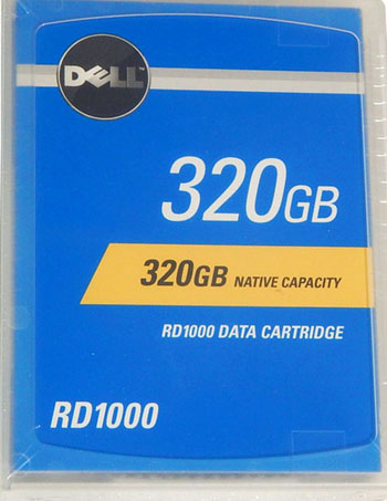 Dell RD1000 320GB Removable Disk Cartridge (RDX) 320GB HDD Part# 341-7182