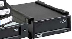 IBM RDX 320GB External USB Removable Disk Docking Station and 1 x 320GB RDX Cartridge Part # 362532X