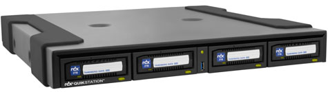 Tandberg Data RDX Quikstation 4 1U Desktop Removable Disk Array Part# 8922-RDX