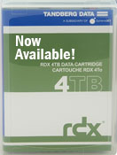 Tandberg Data 4TB RDX Cartridge 8824-RDX
