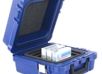 Turtle RDX Storage Case - 10 Slot Case fitted for RDX Cartridge and Dell RD1000 Cartridges