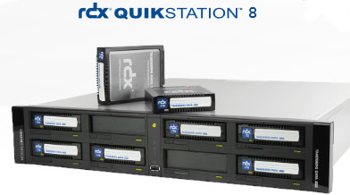 Tandberg RDX QuikStation 8 Array